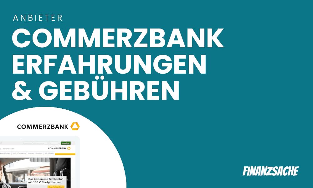 commerzbank aktien gebühren